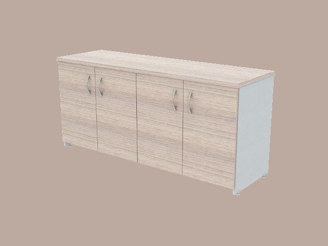 Credenza Con Puertas De Cristal : Credenzas y escritorios melamina muebles prestige