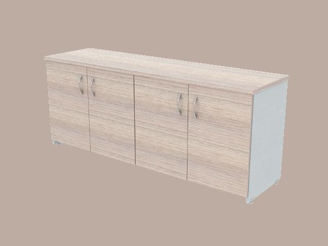 Credenza Con Puertas : Credenza con puertas abatibles de 180x50x75 muebles prestige