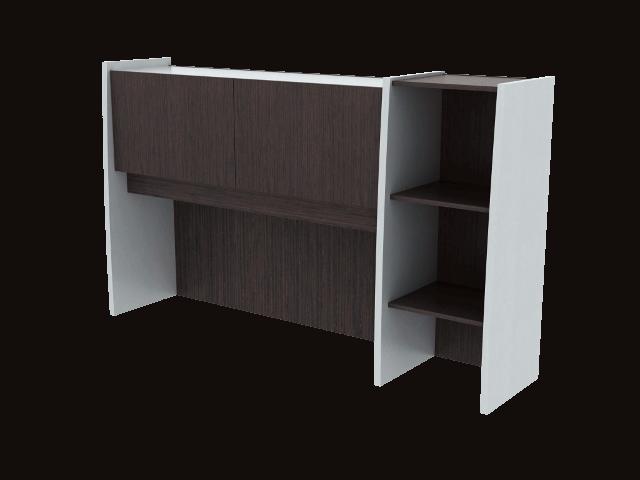 Credenza Con Librero : Librero sobre credenza de cm muebles prestige